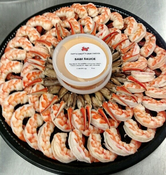 shrimp and crab claw platter g